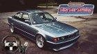 Logitech G27 İle Ccd Mercedes-Benz  E200 Vs Bmw E34 Alpina - Kashyk
