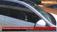 Mhk Başkanı Kuddusi  Müftüoğlu İstanbul'a Geldi