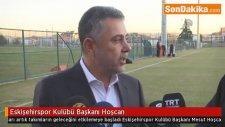 Eskişehirspor Kulübü Başkanı Hoşcan