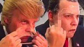 Johnny Depp, Donald Trump Oldu! (Sahne Arkası Görüntüleri)