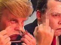 Johnny Depp'in Donald Trump Olması