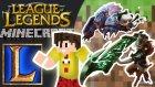 Lol Minecraft W/minecraft Evi,wolvoroth,gereksiz Oda,hyperfox - Bthnclks
