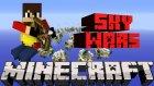 Minecraft | Sky Wars |11| Uçan Hacker Süpermen