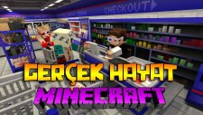 Minecraft'ta GERÇEK HAYAT! (KORKUNÇ SEVGİLİM)