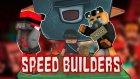 Berkay Noobu Yine Yendi  - Minecraft: Speed Builders #5