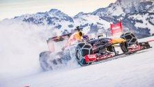 F1 Aracının Karlı Dağlarla İmtihanı