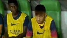Neymar'ı Hiç Böyle Görmediniz