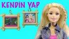 """Barbie Filmleri - Barbie Bebekleri İçin Fotoğraf Çerçevesi Yapımı - Evciliktv """"kendin Yap"""""""