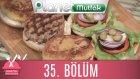 Buket'in Mutlu Mutfağı 35. Bölüm Hamburger&vejeteryan Burger