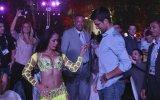 Novak Djokovic'in Dansözle Birlikte Kıvırması