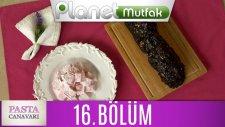 Pasta Canavarı 16. Bölüm Güllü Lokum - Piramit Pasta