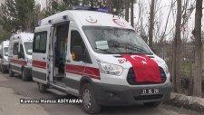 Diyarbakır'da Zırhlı Ambulansların Hizmete Girmesi