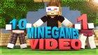 Minecraft 10 MİNİGAMES 1 VİDEO İLE BERABER DANS EDİYORLAR!