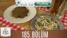 Mutfakta Tek Başına (Yağız İzgül) 185.bölüm Karabiberli Bonfile - Makarna Salatası