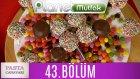 Pasta Canavarı 43. Bölüm Cake Pop - Çikolata Kaplı Ve Renkli Drajeli Kurabiye