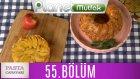 Pasta Canavarı 55. Bölüm Peynirli Kek - Elmalı Milföylü Tart