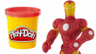 Demir Adam Oyun Hamuru Yapımı | IRON MAN Play Doh STOP MOTION Video Playdough