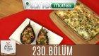 Mutfakta Tek Başına (Yağız İzgül) 230.bölüm Kremalı Ve Somonlu Patlıcan - İki Renkli Makarna