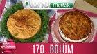 Şeker Dükkanı 170. Bölüm Dört Peynirli Ve Kabaklı Börek - Ballı Ve Bademli Alman Pastası
