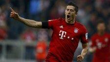 9 dakikada 5 gol atan Lewandowski!