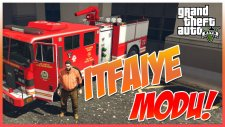GTA 5 PC MODS - FIRE DEPARTMENT / İTFAİYE MOD - RECEP İVEDİK MOD YANIYORUZ! (GTA 5 Mods Gameplay)