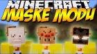 Minecraft Mod Tanıtımı Türkçe - Maske Modu! - (Canavar Maskeleri Ve Hayvan Maskeleri)