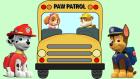 Paw Patrol Otobüsün Tekerleği Dönüyor Çocuk Şarkısı İngilizce