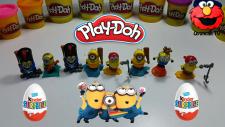 Play Doh Kinder Joy - Oyun Hamuru Kaplı Sürpriz Yumurta Açılışı  - Oyuncaktv