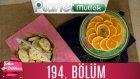 Şeker Dükkanı 194. Bölüm İsveç Kurabiyeleri - Portakallı İrmik Tatlısı