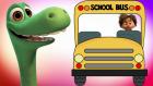 The Good Dinosaur İyi Bir Dinozor Otobüsün Tekerleği Dönüyor Çocuk Şarkısı İngilizce