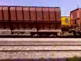 de33039 yük trenİ bandirma gar