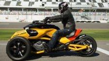3 Tekerlekli Canavar: Can-Am Spyder F3 Turbo