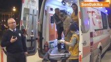 İnegöl 'de  Yer Süpürme Kavgasında 3 Kişi Yaralandı