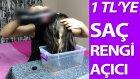 Saç Rengini Açma ve Saçtaki Boyayı Akıtmanın Formülü