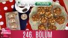 Şeker Dükkanı 246. Bölüm Kokoş Kurabiyeler - Çikolatalı Ve Fıstıklı Un Helvası
