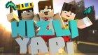 Minecraft: Speed Builders -3- Hakan Kafamı Karıştırıyor !
