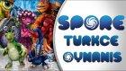 Spore Türkçe Oynanış   Bölüm 12   Uçan Dinazorların Savaşı! - Spastik Gamers