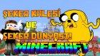 ŞEKER KALESİ ve ŞEKER DÜNYASI! (Macera Zamanı) - Minecraft SKY MEGALİTH! | Bölüm 2