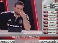 BJK TV'deki Spikerin Müthiş Derbi Totemi!