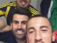 Fenerbahçeli Futbolcuların Beşiktaş Galibiyetini Kutlaması