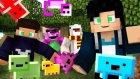 Minecraft : Kendi Envanter Hayvanını Yapma Modu (Custom Pets) - Creeperlar Benden Korkuyor !