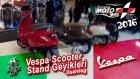 Vespa Motosiklet Stand Geyikleri (Moto Bike Expo 2016) Dualvlog