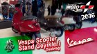 Vespa Motosiklet Standı | Yeni Vespa Motosiklet Modelleri - Dualvlog