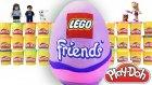 Dev Sürpriz Yumurta Lego Friends Oyun Hamuru Play Doh EvcilikTV