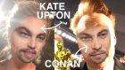 Kate Upton'dan Conan'a Ünlüler Face Swap Uygulamasıyla Leonardo Dicaprio Oldular
