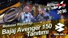 Bajaj Avenger 150 Tanıtımı - Motoser - Doğan Yaltalıer Röportajı (Moto Bike Expo 2016)