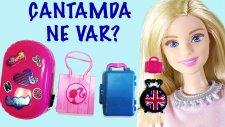 Barbie'nin Çantasında Neler Var   Barbie izle   EvcilikTV Evcilik Oyunları