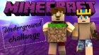 Hakana Biberleri Yedirme Zamanı -3- Minecraft Underground Challange ! - Minecraftevi