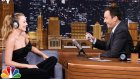Jimmy Fallon ve Margot Robbie'den Dudak Okuma Oyunu