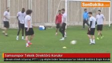 Samsunspor Teknik Direktörü Korukır